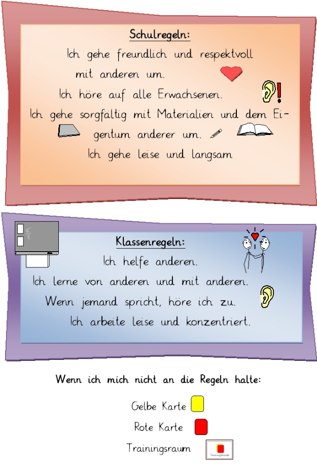 Gelbe Karte Grundschule.Grundschule Hermannstrasse Schulordnung